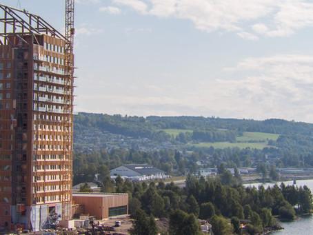 Uma jornada renovável: da semente ao mais alto edifício de madeira do mundo