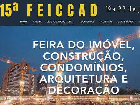 15ª FEICCAD, FEIRA DO IMÓVEL, CONSTRUÇÃO, CONDOMÍNIOS, ARQUITETURA E DECORAÇÃO