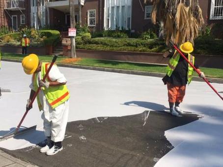Por que Los Angeles está pintando o asfalto da cidade de cinza claro