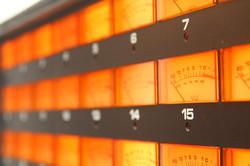 Ampex MM1200 Meters.
