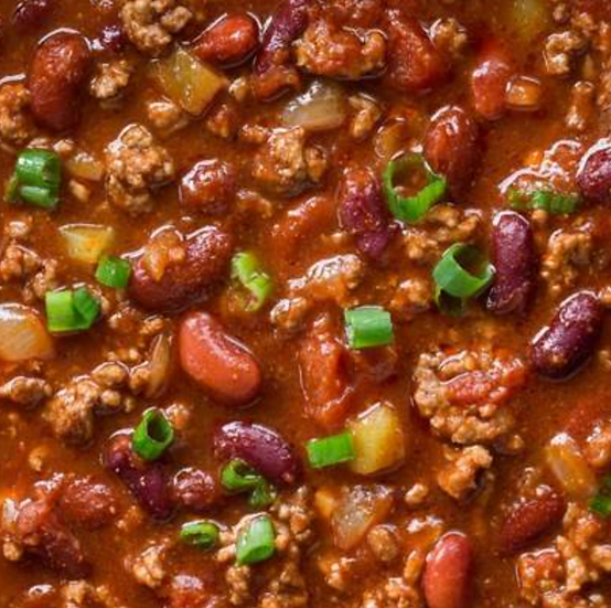 Chili-Beef or Vegetarian