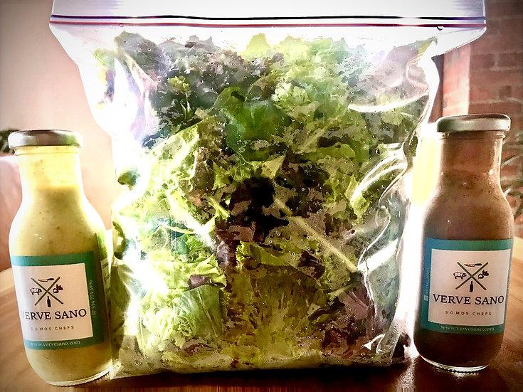 Salad & Dressing Combo