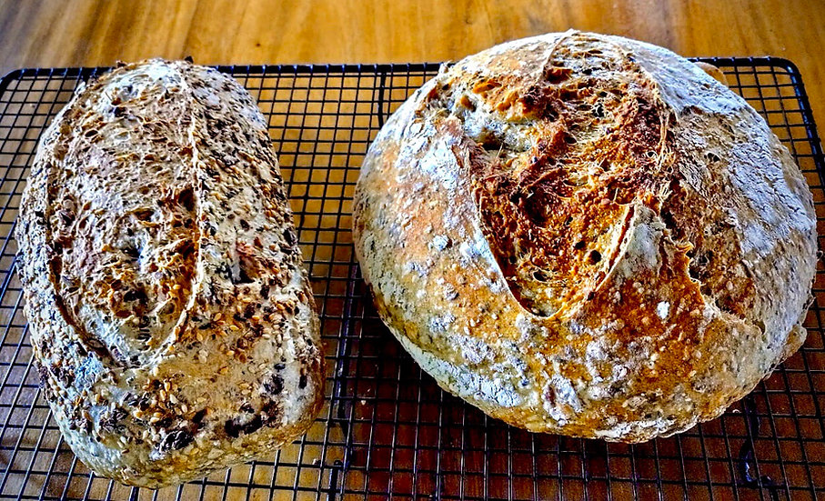 5 Seed Sourdough Bread