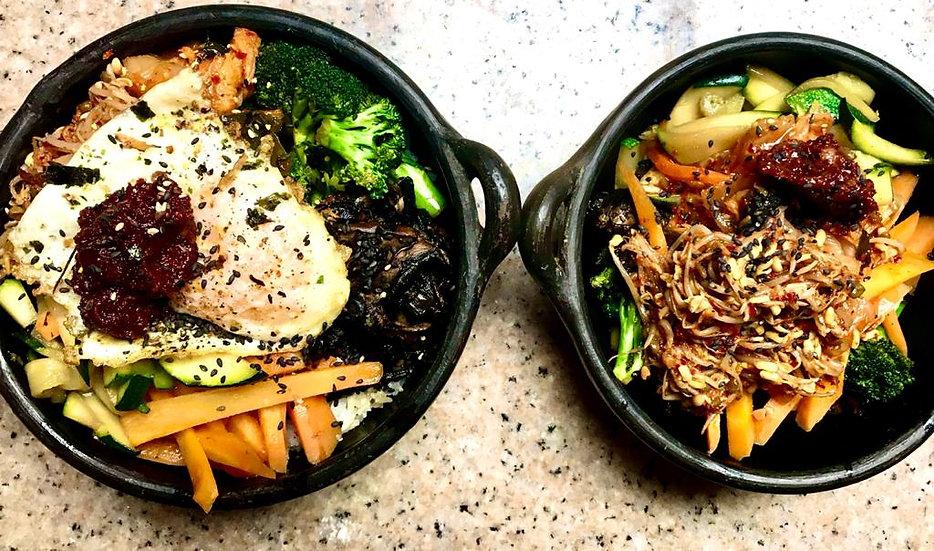 Bibimbap- Beef or Mushroom (Korean Rice Bowl)