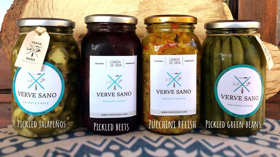 Pickled Vegetables & Chutneys