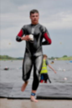 Joel Barker triathlete