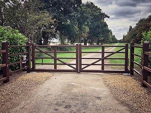 Hinge Farm Estate Gates