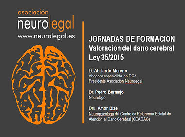 jornada de formación sobre la valoración del daño cerebral ley 35/2015