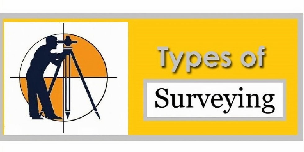 Webinar:  Types of Surveying