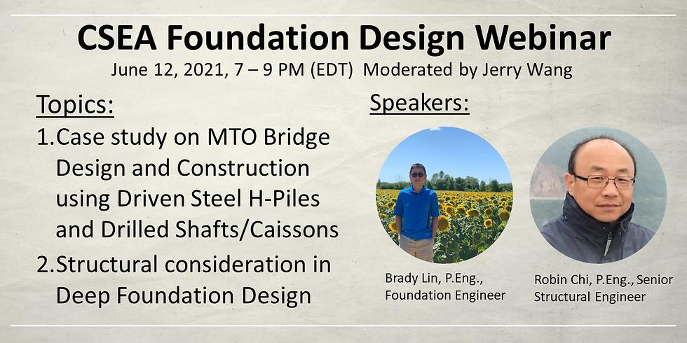 Foundation Design Webinar