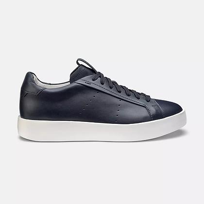 Sneaker Santoni  in morbida pelle blu