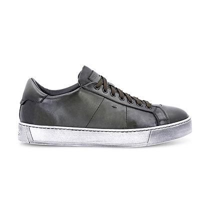 Sneaker Gloria in Nappa Super Soft Verde