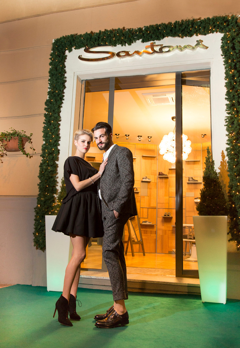 Natale 2015 al Santoni Store di Cagliari