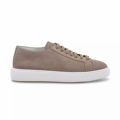 Sneaker in Camoscio Sabbia
