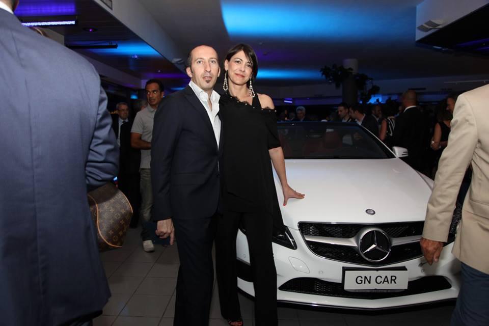 Evento Santoni Cagliari con AMG Mercedes