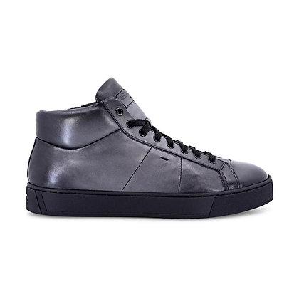 Sneaker Gloria Alta nappa super soft Santoni Uomo