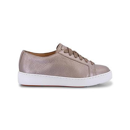 Sneaker Morbida e leggera Santoni in pelle Oro