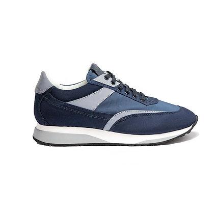 Sneaker in Tessuto Blu