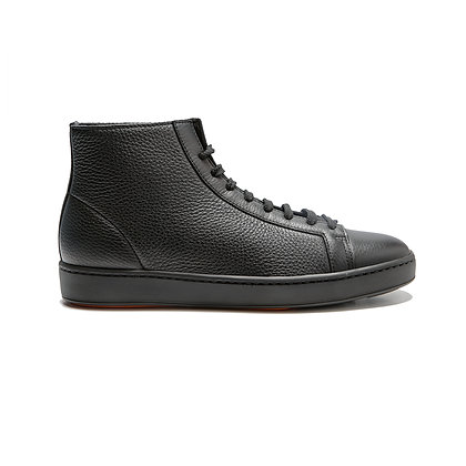 Sneaker Clean Donna alta fondo gomma