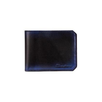 Porta Carte Blu Santoni