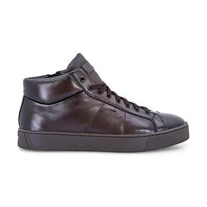 Sneaker Santoni in pelle super soft Uomo