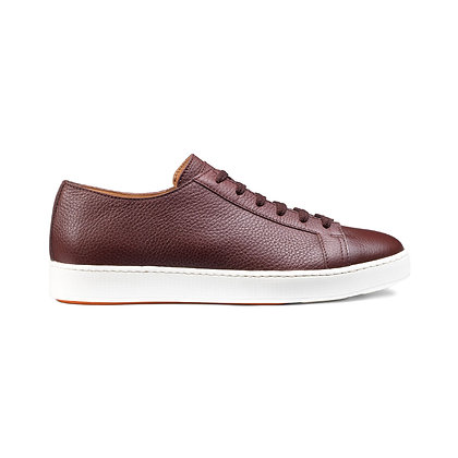 Sneakers Clean in Pelle Bordeaux Bottalata