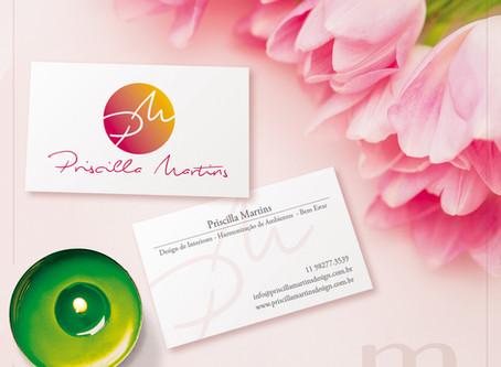 Criação de marca e cartão de visitas