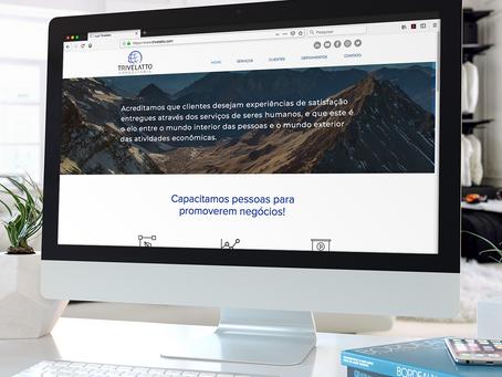 Personalização de site na plataforma Wix