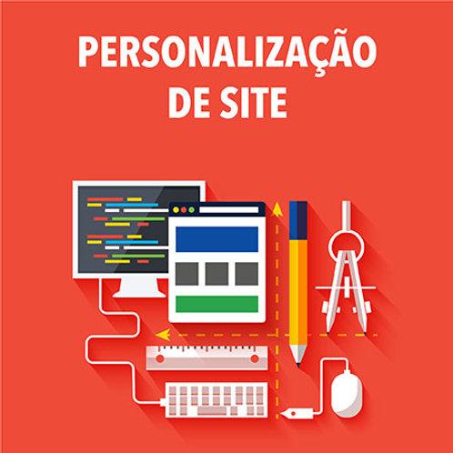 Personalização de site (promoção)