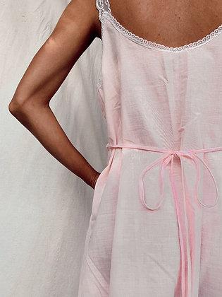Pink Frangipani Dress