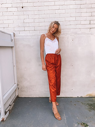 Red Love Pants