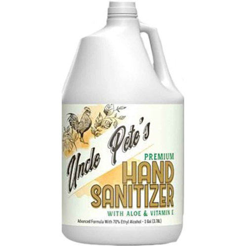 Uncle Pete's Hand Sanitizer with Aloe