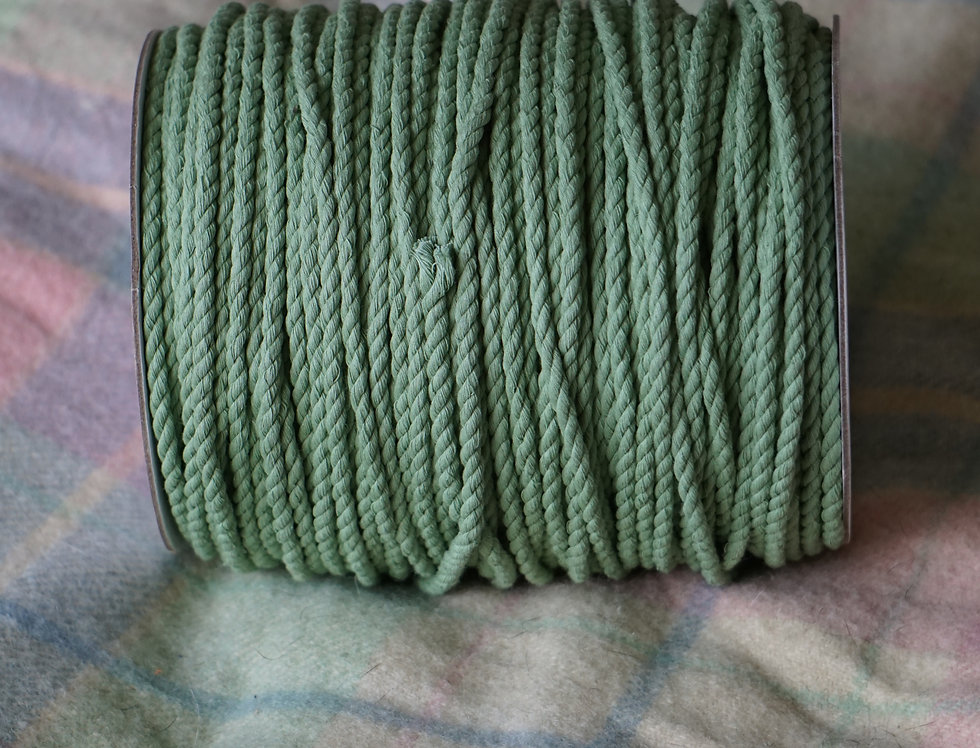 Recycled Cotton Rope - Artichoke