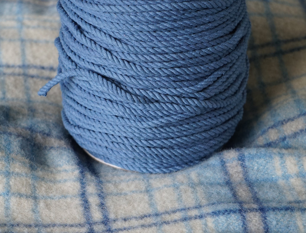 Recycled Cotton Rope - Azure