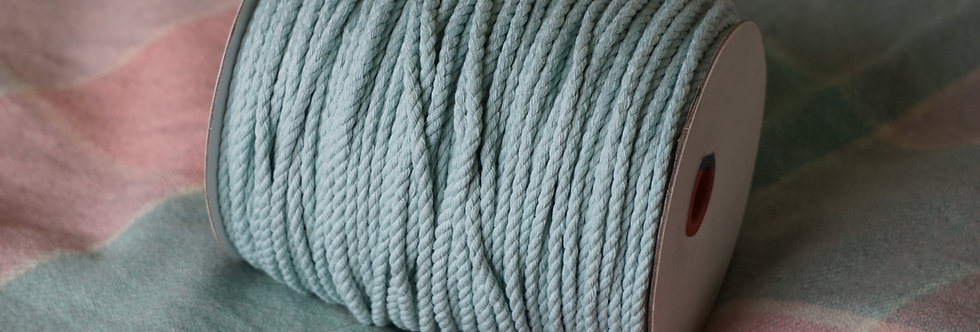 Recycled Cotton Rope - Seaglass