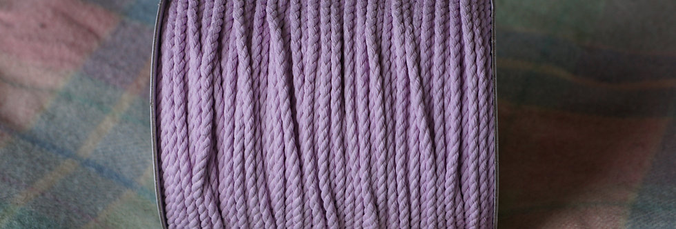 Recycled Cotton Rope - Iced Lilac