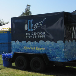 Ice for concerts & events