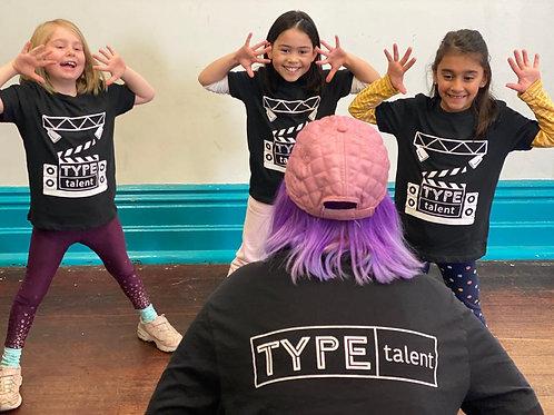 $25 Deposit | TYPE Acting (7-9yrs)