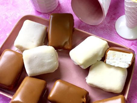גלידוניות שוקולד לבן ולוטוס