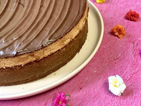 עוגת מרנג הפוכה
