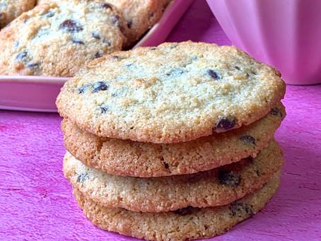 עוגיות שוקוצ'יפס שקדים