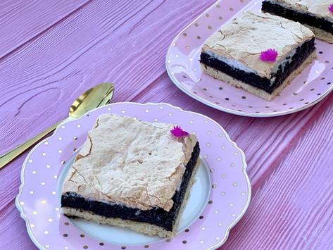 עוגת פרג מרנג