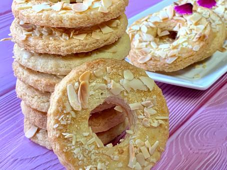 עוגיות טבעות שקדים