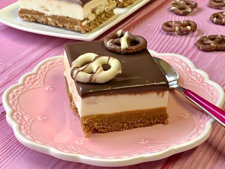 בייגלה קרמל ומוס שוקולד לבן