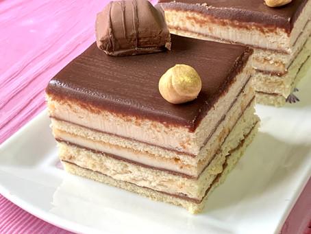עוגת שכבות קינדר בואנו