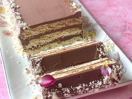 עוגת שכבות שוקוקוס