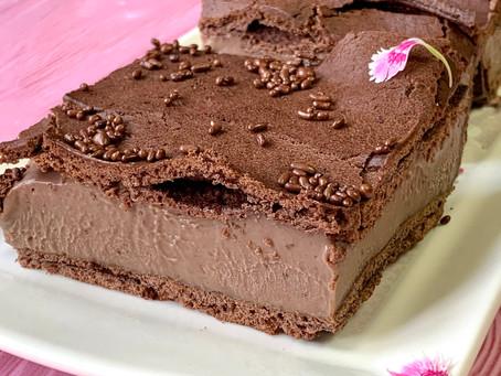 קרפטקה- עוגת פחזנייה בטעם שוקולד