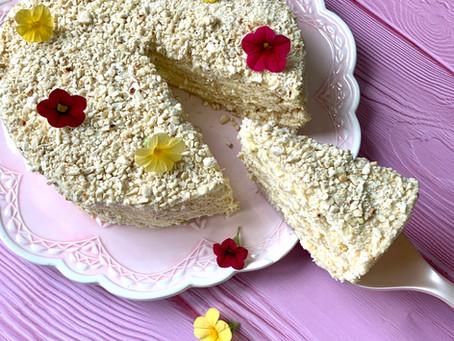 עוגת קרם קשיו