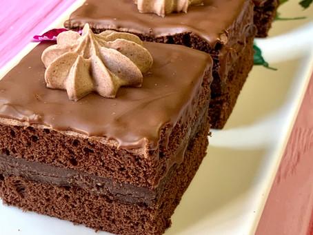 אמנדין-עוגת קרם שוקולד