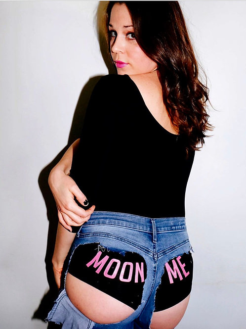 Moon Me Booty shorts